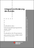 Evaluation des Schwerpunkteprogramms 2004 -2007